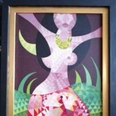 Arte: ACRÍLICO SOBRE LIENZO. FIRMADO Y FECHADO. Lote 179067743