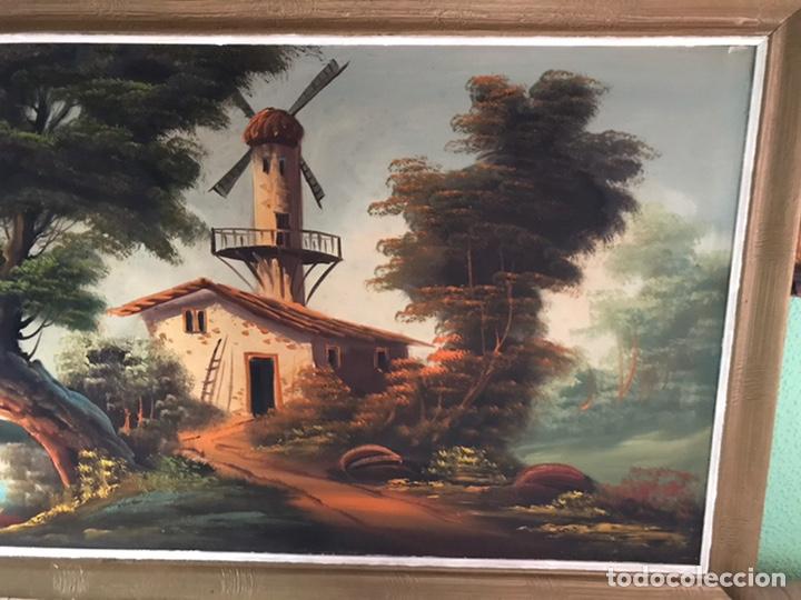 Arte: Cuadro original y firmado de óleo sobre lienzo grande - Foto 2 - 179070951