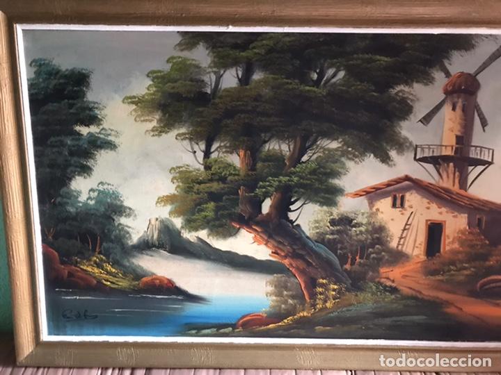 Arte: Cuadro original y firmado de óleo sobre lienzo grande - Foto 3 - 179070951
