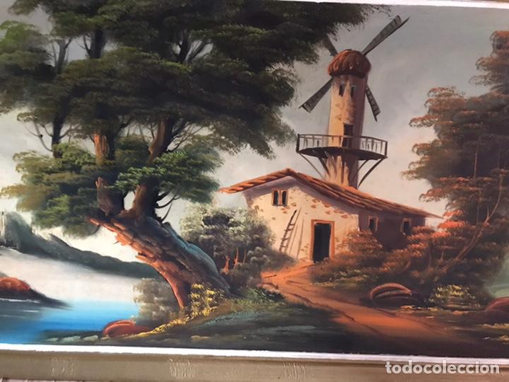 Arte: Cuadro original y firmado de óleo sobre lienzo grande - Foto 5 - 179070951