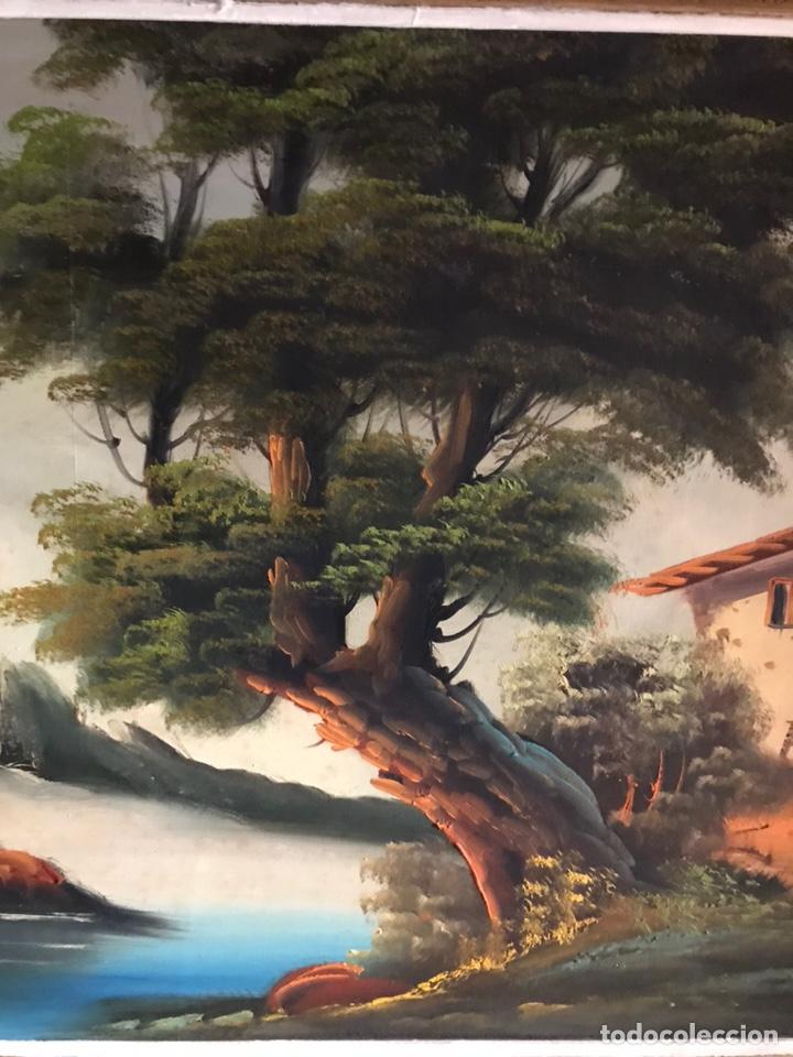 Arte: Cuadro original y firmado de óleo sobre lienzo grande - Foto 8 - 179070951