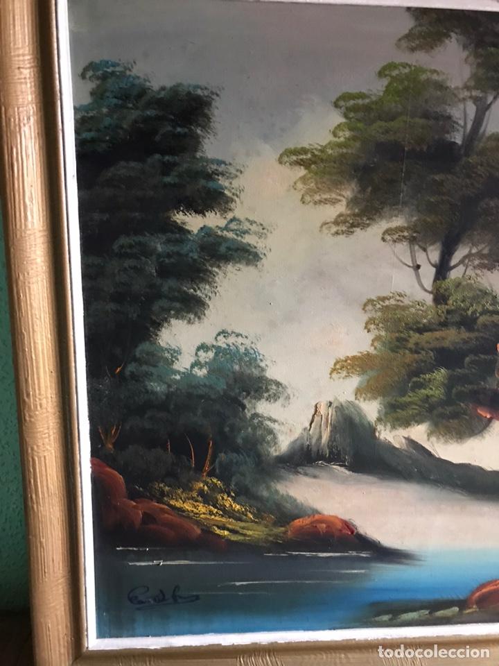 Arte: Cuadro original y firmado de óleo sobre lienzo grande - Foto 9 - 179070951