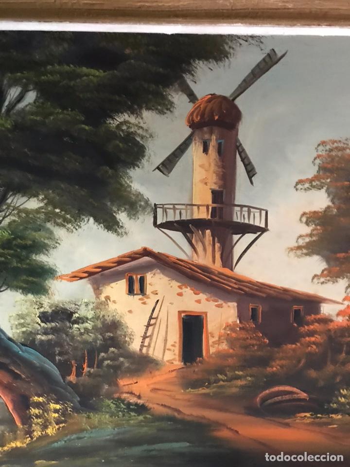 Arte: Cuadro original y firmado de óleo sobre lienzo grande - Foto 10 - 179070951