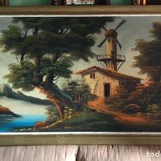 Arte: CUADRO ORIGINAL Y FIRMADO DE ÓLEO SOBRE LIENZO GRANDE. Lote 179070951