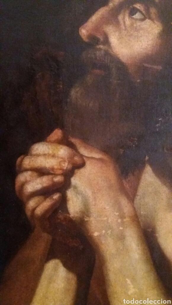Arte: MARCH, MIGUEL ( VALENCIA CA.1610- 1668): SAN JERÓNIMO PENITENTE - Foto 4 - 191860381