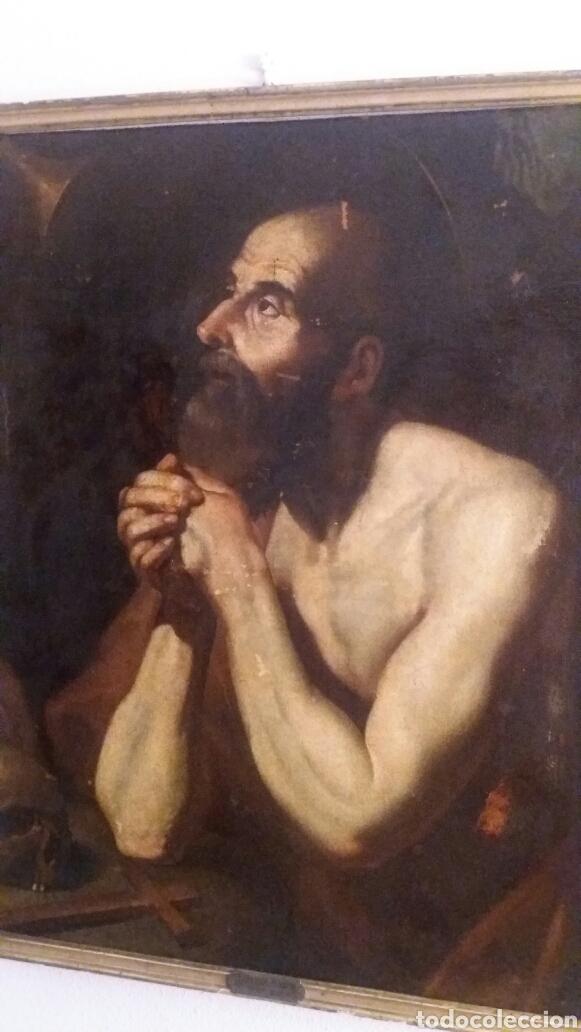 MARCH, MIGUEL ( VALENCIA CA.1610- 1668): SAN JERÓNIMO PENITENTE (Arte - Pintura - Pintura al Óleo Antigua siglo XVII)