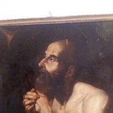 Arte: MARCH, MIGUEL ( VALENCIA CA.1610- 1668): SAN JERÓNIMO PENITENTE. Lote 179080000