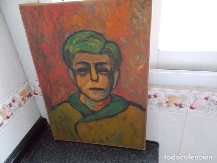 MAGNIFICA OBRA BUEN TRAZO NO CONOZCO AUTOR AÑOS 60/70 // OLEO SOBRE LIENZO (Arte - Pintura - Pintura al Óleo Moderna siglo XIX)