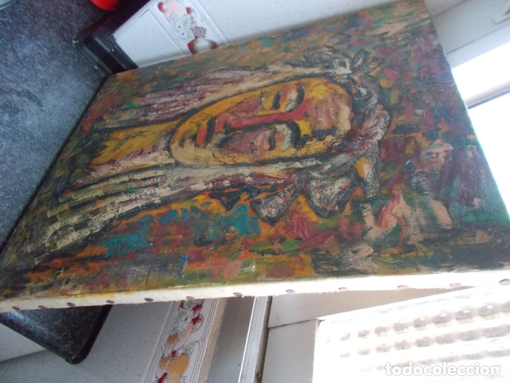Arte: MAGNIFICA OBRA BUEN TRAZO NO CONOZCO AUTOR AÑOS 60/70 // OLEO SOBRE LIENZO - Foto 2 - 179080423