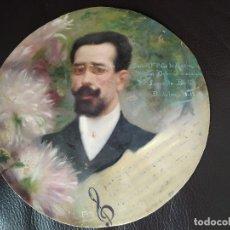 Arte: 1906 RETRATO DE LEOPOLDO LEOPOLD BOTEY VILA REALIZADO POR EDUARD EDUARDO FLO I GUITART BADALONA. Lote 179099460