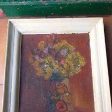 Arte: CUADRO BERNAT YLLA 1945,FLORS DEL CAMP. Lote 179102658
