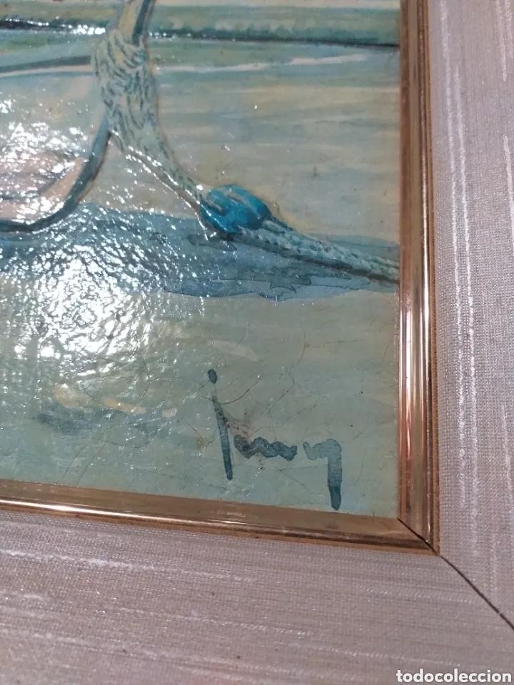Arte: CUADRO M.PERELLO LA FIRMA NI IDEA, JUNY? - Foto 5 - 179103382