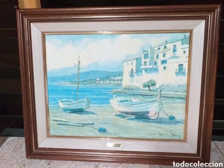 Arte: CUADRO M.PERELLO LA FIRMA NI IDEA, JUNY? - Foto 13 - 179103382