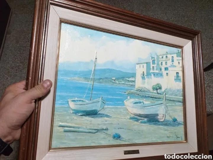 Arte: CUADRO M.PERELLO LA FIRMA NI IDEA, JUNY? - Foto 17 - 179103382