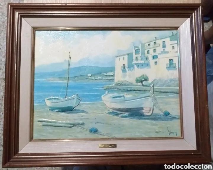 CUADRO M.PERELLO LA FIRMA NI IDEA, JUNY? (Arte - Pintura Directa del Autor)