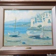 Arte: CUADRO M.PERELLO LA FIRMA NI IDEA, JUNY?. Lote 179103382
