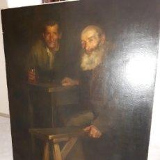 Arte: CUADRO,OLEO LIENZO PINTURA CATALANA GRANER Y ARRUFI, LLUÌS. Lote 179106095
