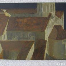 Arte: PINTURA - NARCÍS COMADIRA I MORAGRIEGA (GERONA, 1942) ES UN POETA Y PINTOR - AÑO 1966. Lote 179158831