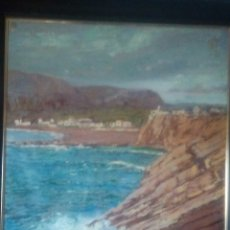 Arte: G ESTEBAN MITAD S.XX. PAISAJE COSTERO OLEO. Lote 179163426