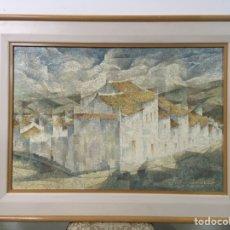 Arte: PINTURA AL ÓLEO SOBRE LIENZO FIRMADA POR JOAQUÍN CAÑETE BABOT. Lote 179165207