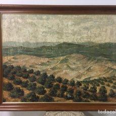 Arte: PINTURA AL ÓLEO SOBRE LIENZO FIRMADA POR JOAQUÍN CAÑETE BABOT. Lote 179175202