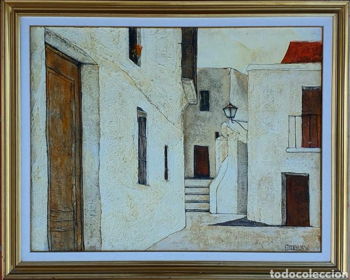 EDDY DOORENBOS (HOLANDA 1922-2013), MAGNIFICA PINTURA VINTAGE FIRMADA. (Arte - Pintura - Pintura al Óleo Contemporánea )