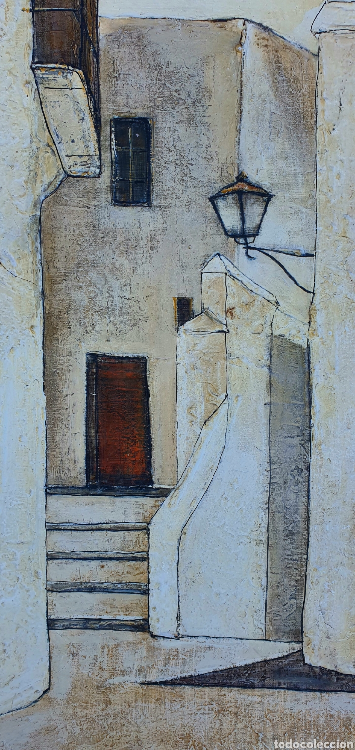 Arte: Eddy Doorenbos (Holanda 1922-2013), magnifica pintura vintage firmada. - Foto 2 - 179112381