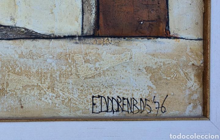 Arte: Eddy Doorenbos (Holanda 1922-2013), magnifica pintura vintage firmada. - Foto 3 - 179112381