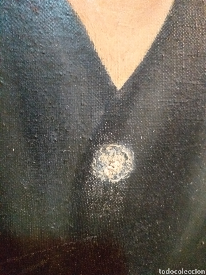 Arte: IMPRESIONANTE CUADRO ,FIRMADO CON DEDICATORIA Y LEONES CON CARA DE DEMONIOS,OJO NO SE ENVIA - Foto 13 - 179188086