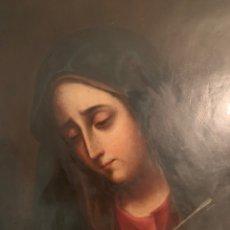 Arte: ÓLEO COBRE DOLOROSA. Lote 179198125