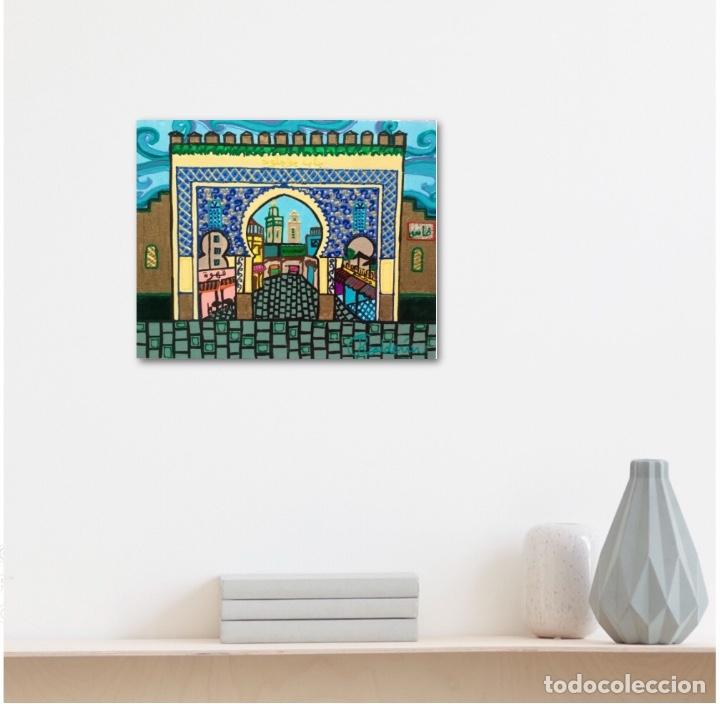 Arte: BOUJLOUD FEZ obra de temática orientalista de Ruth Calderín - Foto 4 - 176669750