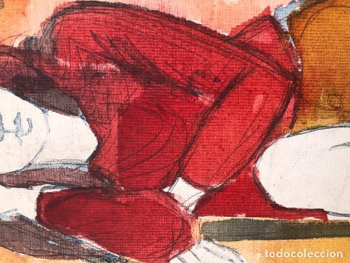Arte: Jordi Curós Ventura (1930-2007) - Figura femenina mujer - Foto 4 - 179314381