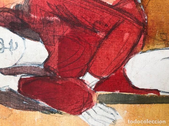 Arte: Jordi Curós Ventura (1930-2007) - Figura femenina mujer - Foto 6 - 179314381