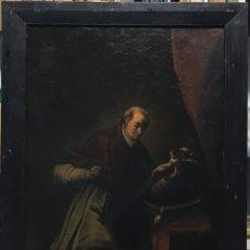 Arte: SAN CARLOS BORROMEO, ESC. ITALIANA S. XVIII. Lote 179330621