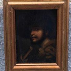 Arte: RETRATO CABALLERO AL ESTILO FLAMENCO. Lote 179330978