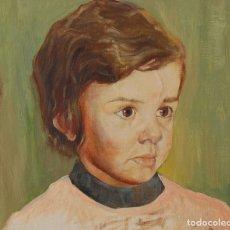 Arte: NIÑO: RETRATO INFANTIL. ORIGINAL 1930'S - 1940'S. Lote 179397792