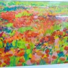 Arte: JULIEN MEUNIE AMAPOLAS . Lote 179537040