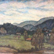 Arte: ALDO CONTI( 1890 – 1988) PINTOR ITALIANO. OLEO SOBRE TELA.. Lote 179556395