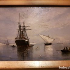 Arte: CUADRO, PINTURA VALENCIANA, RAFAEL MONLEON. Lote 179668252