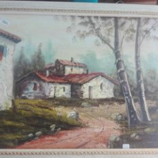 Arte: PAISAJE AL ÓLEOPAISAJE AL ÓLEO MEDIDAS 45X35. Lote 179683220