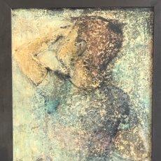 Arte: ARTURO PEYROT FILIPPINI 1908-1993 OLEO SOBRE TABLA TITULADO EL NIÑO. . Lote 179947471