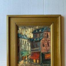 Arte: EDUARD D'ARACIL, EDUARDO ARACIL SASAL - PAISAJE URBANO 1. Lote 180010818