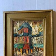 Arte: (VENDIDO) EDUARD D'ARACIL, EDUARDO ARACIL SASAL - PAISAJE URBANO 2. Lote 180010885