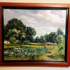 Arte: RAMÓN BARNADAS FÁBREGAS (GERONA, 1909-1981) - PAISAJE. Lote 161219274