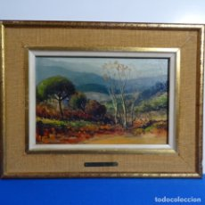 Arte: OLEO JOAN TARRES FENIZ(TERRASSA 1928).. Lote 180037995