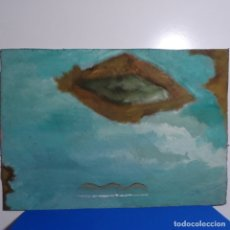 Arte: ÓLEO SOBRE CARTÓN DURO DE HECTOR CARBONELL.. Lote 180041845
