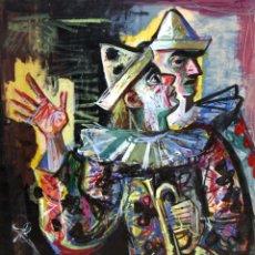 Arte: ALFREDO OPISSO CARDONA (1907- 1980) GOUACHE SOBRE PAPEL. . Lote 180100240