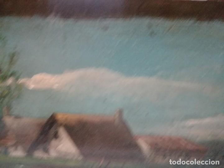 Arte: ANTIGUO ÓLEO SOBRE TABLEX FIRMADA MIREN FOTOS - Foto 16 - 180138283