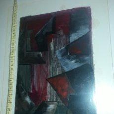 Arte: CUADRO ÓLEO EL PINTOR PIERRE LESCURE. Lote 180139386