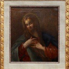 Arte: ANTONI VILADOMAT (1678-1755). ÓLEO/LIENZO 45 X 40 CM. FIRMADO. CON MARCO.. Lote 180195797